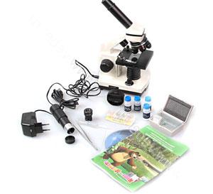 Набор опытов для детей - микроскоп Маша и Медведь