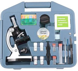 Игровой набор для детей Микроскоп 100-900