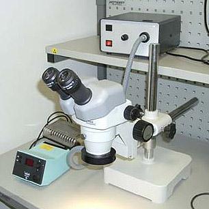 Микроскоп для ремонта сотовых телефонов и электроники